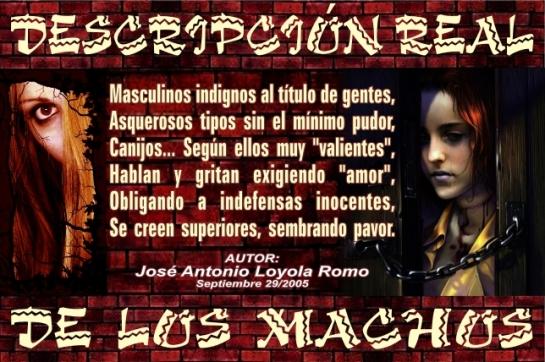 03 Descripción de Machos (29-09-2005)