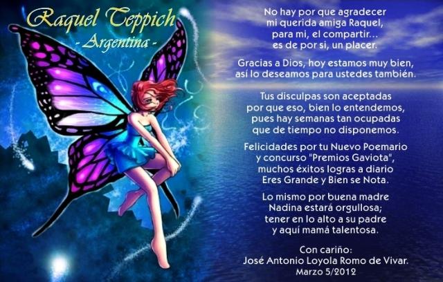 16 B a Raquel Teppich (ARG. 05-03-2012)