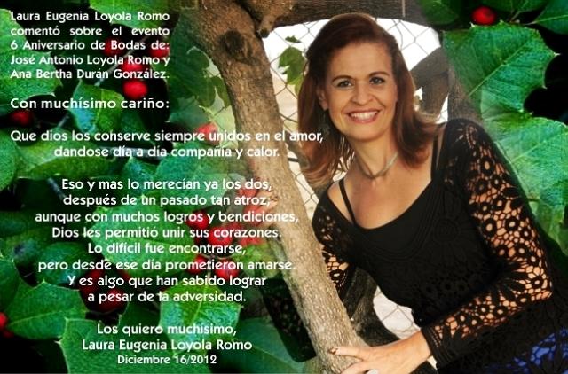 de Laurita, para Nosotros, Dic.16-2012