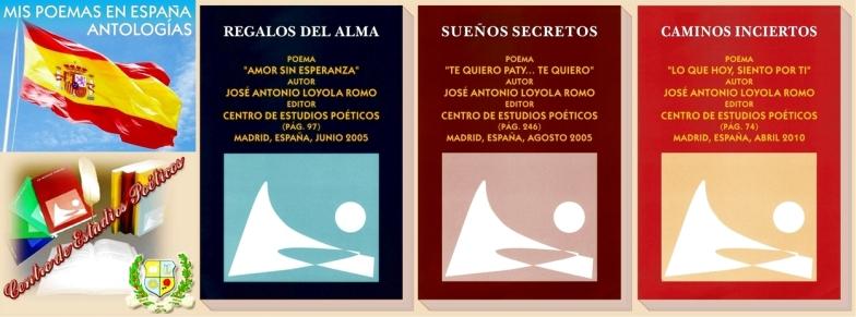 VER MIS POEMAS PUBLICADOS en ESPAÑA (CLIC)
