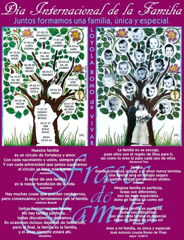 Día Internacional de la Familia 15 05 2013