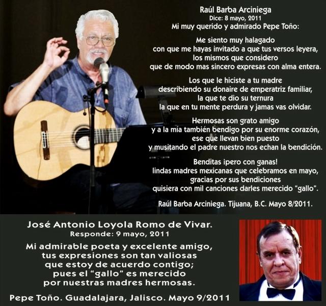 Poema de Raul Barba y J.A. Loyola (Mayo 2011)