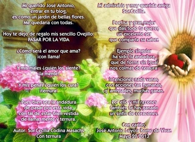 Poemas de Sor.Cecilia y José Antonio Loyola