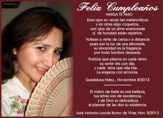 Poemas a Karla, en su Aniversario (1)