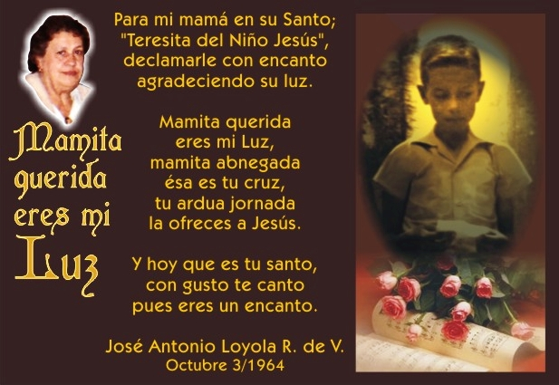 1964 10 03 Mamita Querida Eres Mi Luz 01
