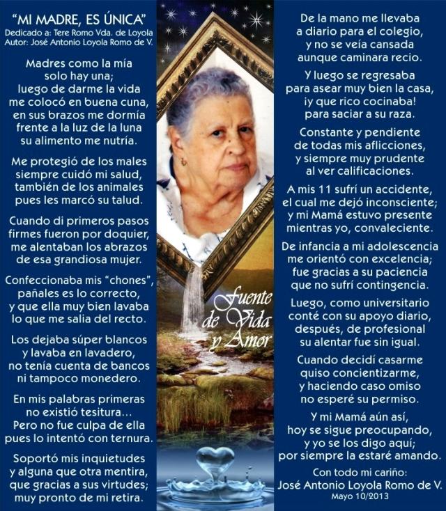 2013 05 10 Mi Madre Es Única 01