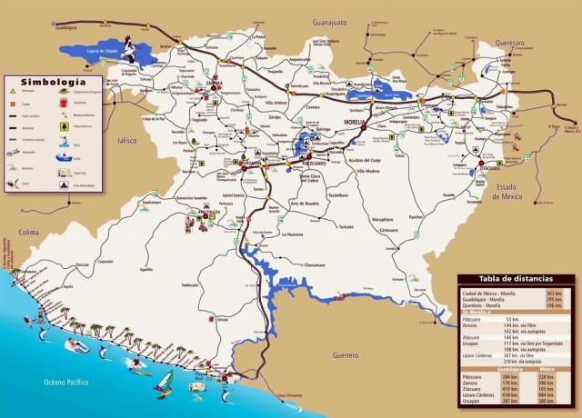 02 Mapa, Morelia Michoacan 01