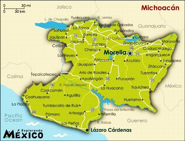 02 Mapa, Morelia Michoacan 02