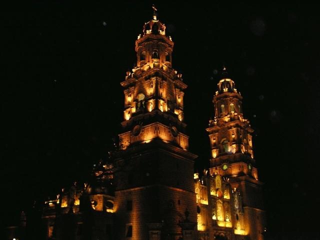 07 Catedral de Morelia (Nocturna) 03