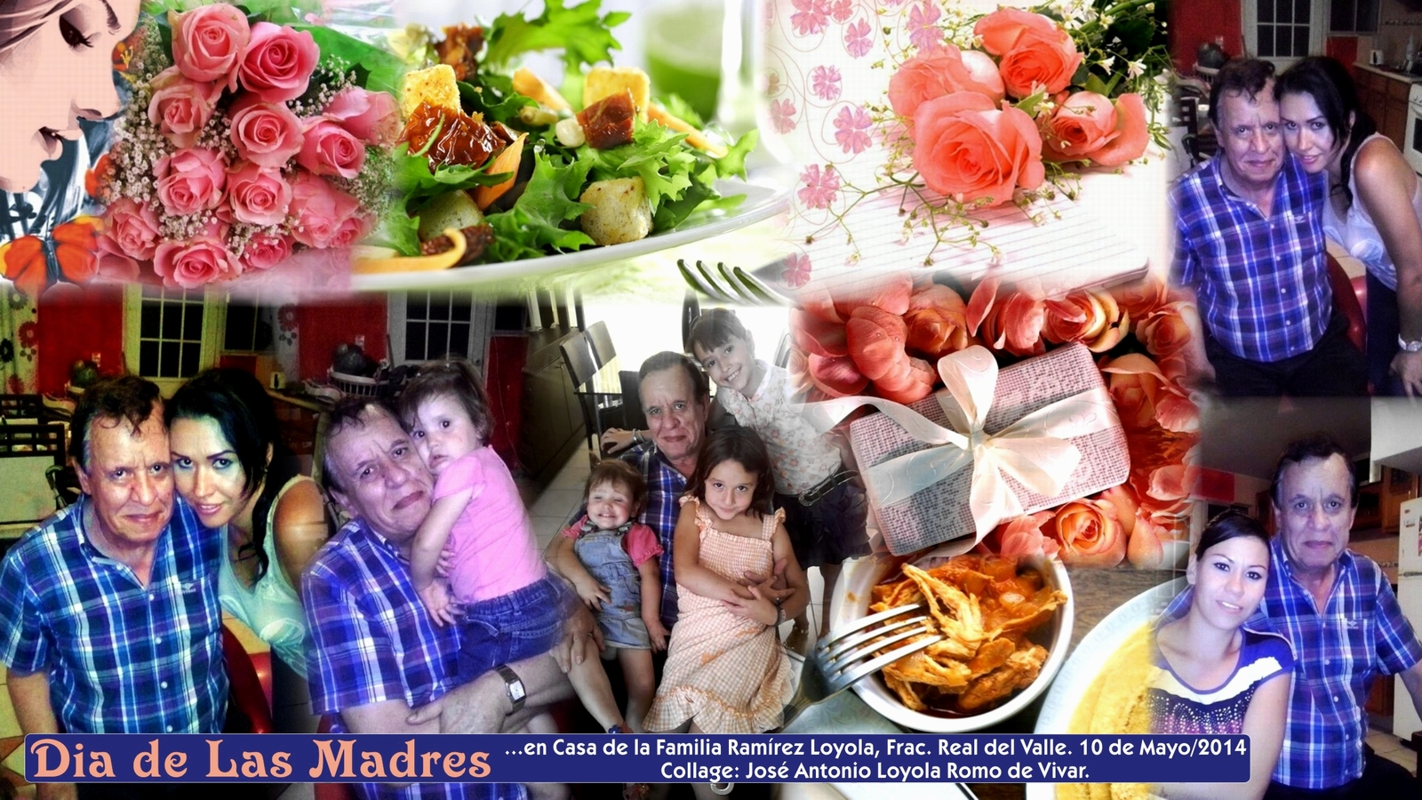Increíble Foto Familiar Enmarca El Collage Regalo - Ideas ...