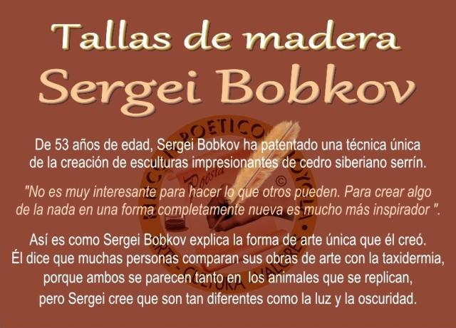 Sergei Bobkov - Talla de Madera (01)