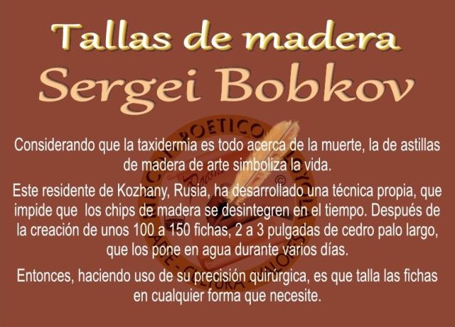 Sergei Bobkov - Talla de Madera (10)