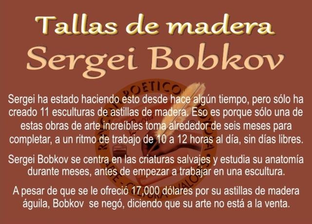 Sergei Bobkov - Talla de Madera (19)