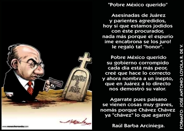 2009 09 25 Pobre México Querido (01)