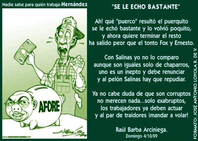 2009 10 04 Se Le Echó Bastante (01)