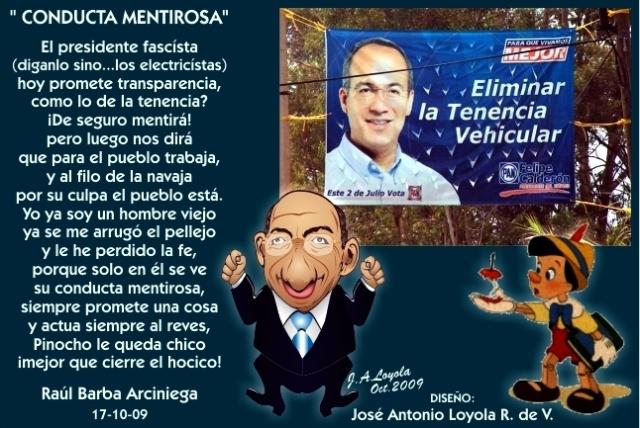 2009 10 17 Conducta Mentirosa (01)