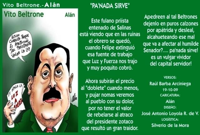 2009 10 19 Pa' Nada Sirve (01)