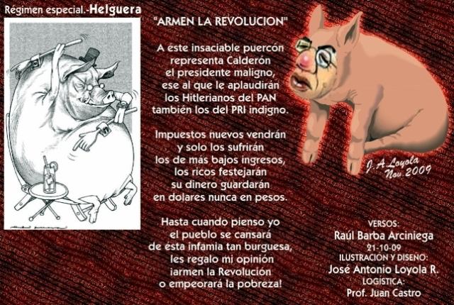 2009 10 21 Armen La Revolución (01)