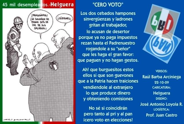2009 10 22 Cero Voto (01)