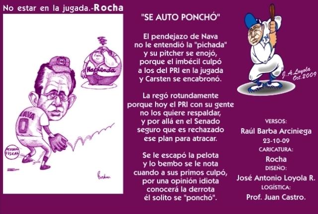 2009 10 23 Se Auto Ponchó (01)