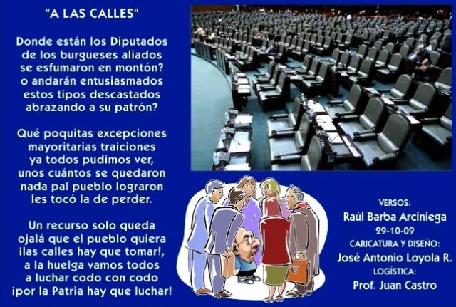 2009 10 29 A Las Calles (01)