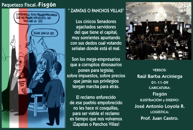2009 11 01 Zapatas ó Panchos Villas (01)