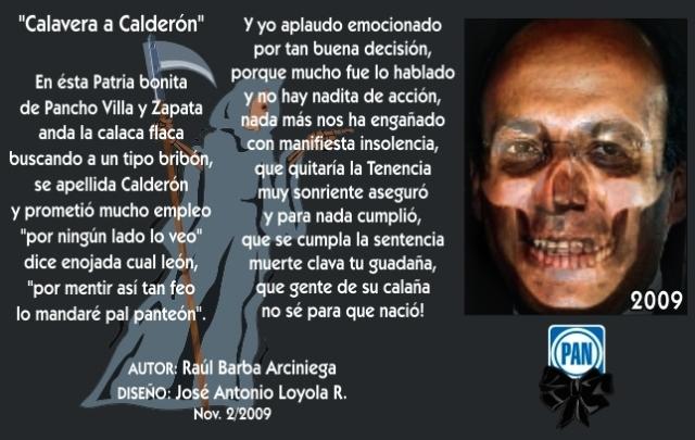 2009 11 02 Calavera a Calderón (01)