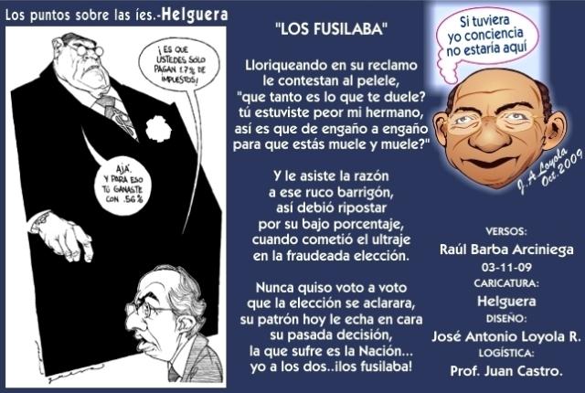 2009 11 03 Los Fusilaba (01)