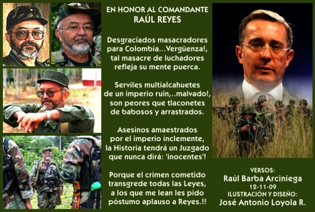 2009 11 12 Comandante Raúl Reyes (01)