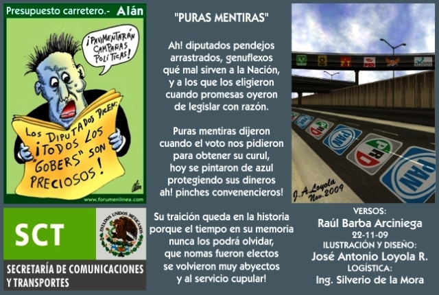 2009 11 22 Puras Mentiras (01)