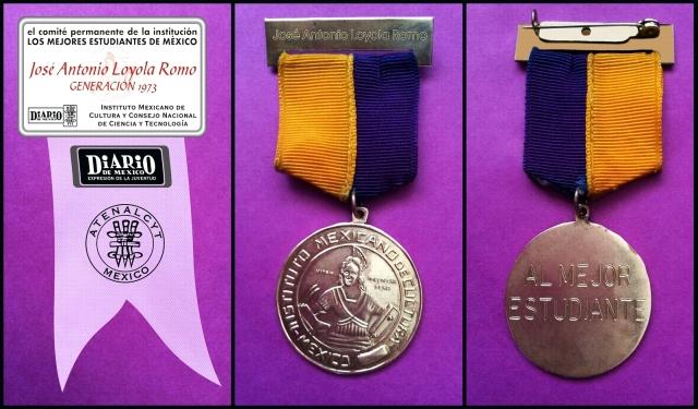 1973 11 27 Recibí Diploma y Medalla, Bellas Artes (05)