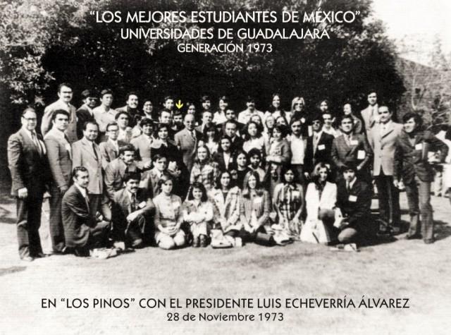 1973 11 28 En Los Pinos con L.E.A. (01)