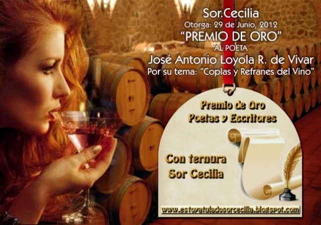 Premio de Oro de Sor.Cecilia 29-06-12