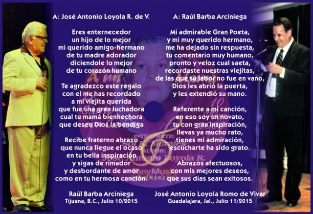 2015 07 10 Raúl Barba y José Antonio Loyola